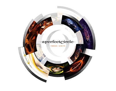 A Perfect Circle - Three Sixty - CD and iTunes Booklet