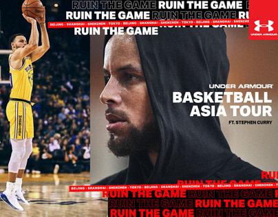 2019 UA Basketball Asia Tour Branding