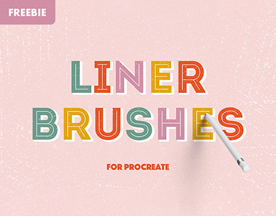 Free Download: Liner Procreate Brushes