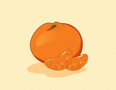 Yummy fruit   Vector illustration