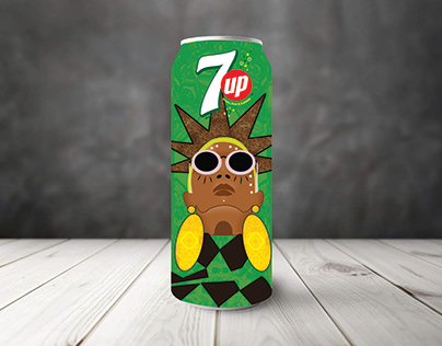 African 7UP Cans