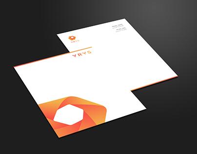 Projeto de papelaria conceito