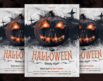 Halloween Spooky Night Flyer