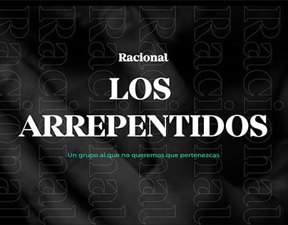 LOS ARREPENTIDOS- RACIONAL
