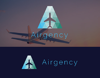 Travel Agency Logo With A Latter