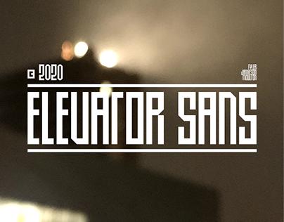 ELEVATOR SANS - FREE CONDENSED FONT