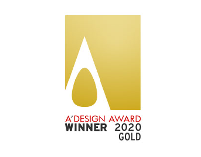 We are GOLD AWARD in packaging for A'Design Award