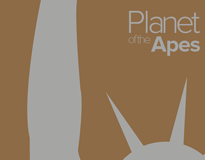 Planet of the Apes (1968) - Movie Poster Remake