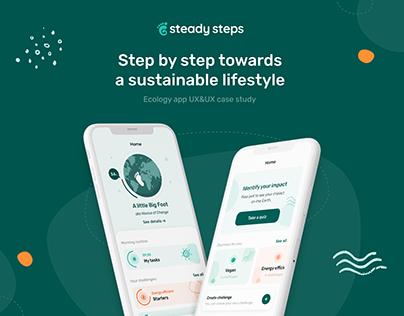 Steady Steps - Ecology app