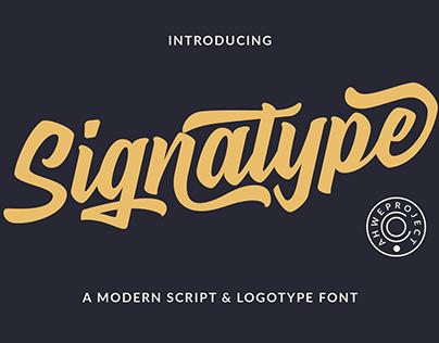 Signatype - Modern Script Font