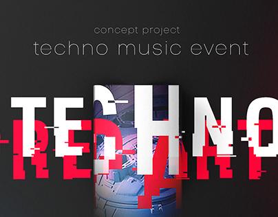 Music Event | Techno Preparty