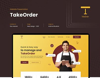 Website Presentation - TakeOrder