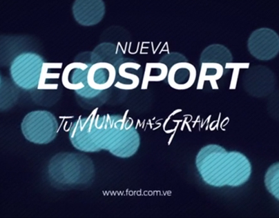 Logo  Ecosport Ford
