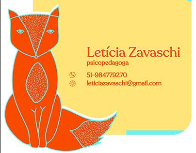 Cartão de visitas digital - LZ psicopedagoga