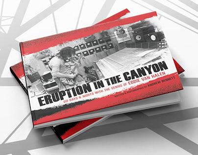 """Van Halen . """"Eruption in the Canyon"""" book"""