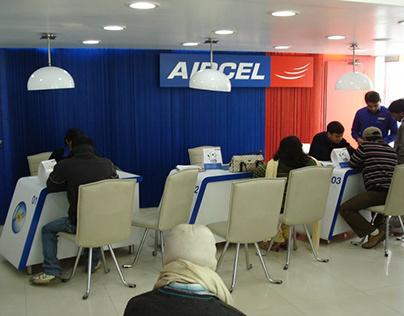 AIRCEL: Service Center (Noida 1800sqft)