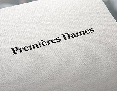 Premières Dames - Logo