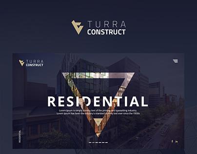 TURRA CONSTRUCT UI/UX