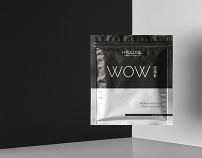 Packing WOW MASK. Hyalual