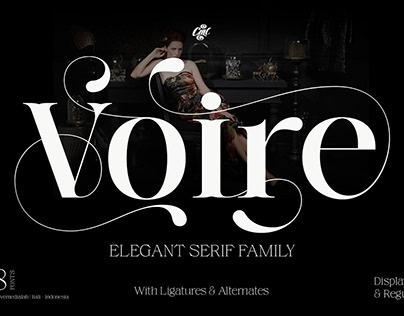 Elegant Serif family