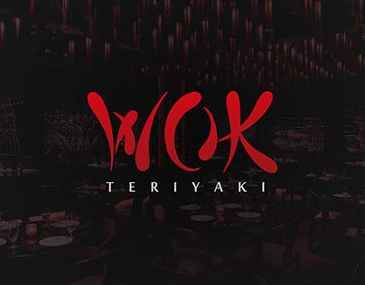 WOK Teriyaki - Logo, Menu and Packing
