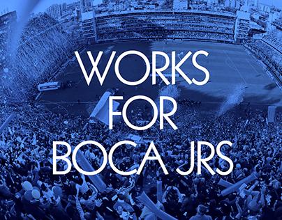 Illustration and Art Direction for Boca Juniors FC