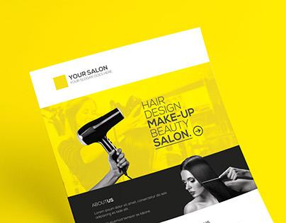 Premium Hair Salon Flyer