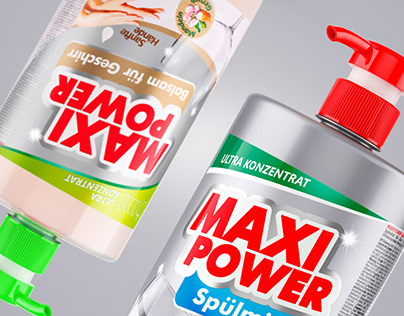 MaxiPower household chemicals