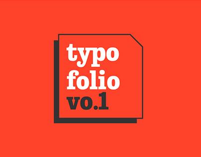 Typofolio Vo1