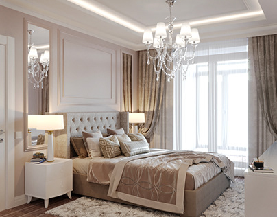 Apartment design in the Neo-classical style