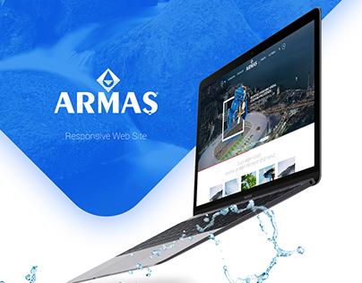 Armaş Responsive Web Site