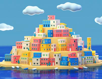 Summer Vacation in Mediterranean