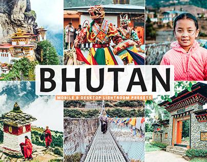 Free Bhutan Mobile & Desktop Lightroom Presets