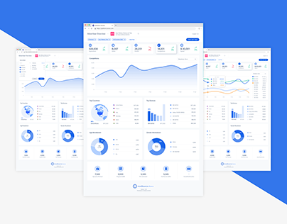 App analytics dashboard - product design