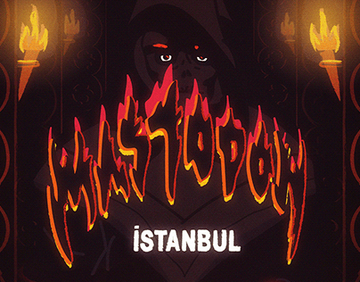 Mastodon Gig Poster