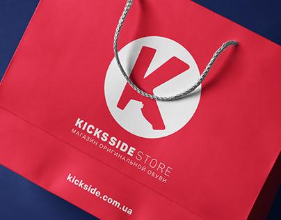 Разработка логотипа для сайта kickside.com.ua