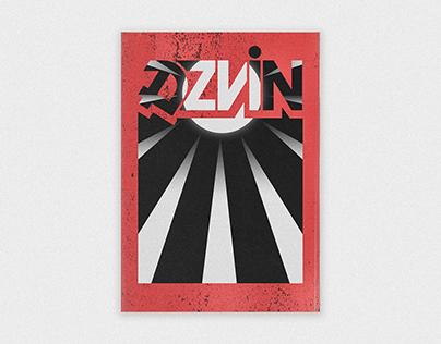"""DZVIN"" POSTER DESIGN #4"