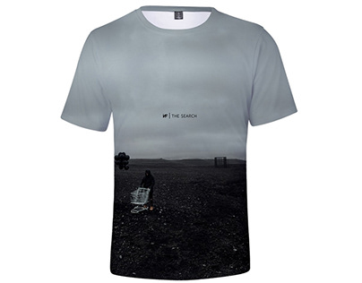 3D Art The Search Tee