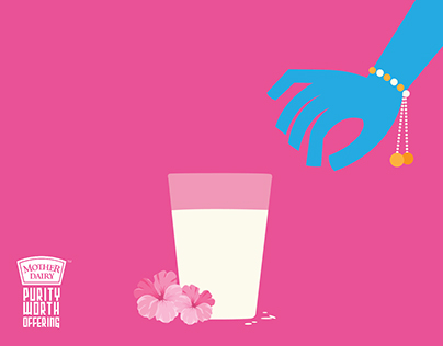 Mother dairy - Print Campaign