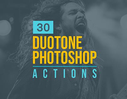 30+ Outstanding Duotone Photoshop Actions