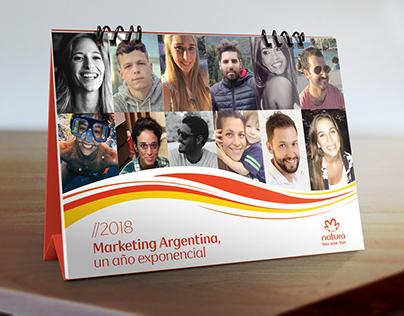 Natura - Calendario Marketing Argentina 2018
