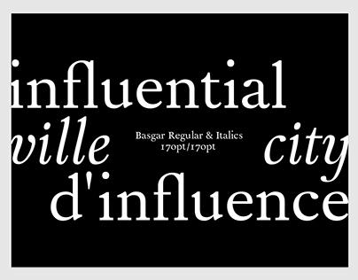 Basgar—Typeface Design