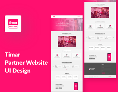 Salon Partner Website