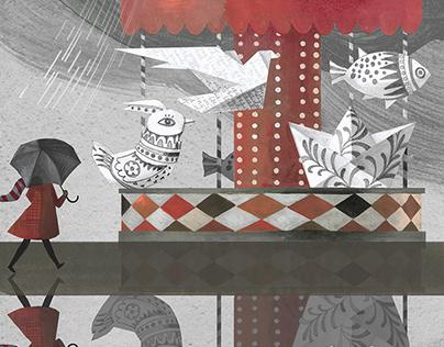 Illustrations for Brio Magazine