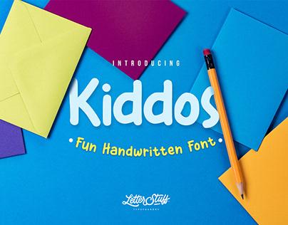 Free Kiddos Fun Handwritten Font