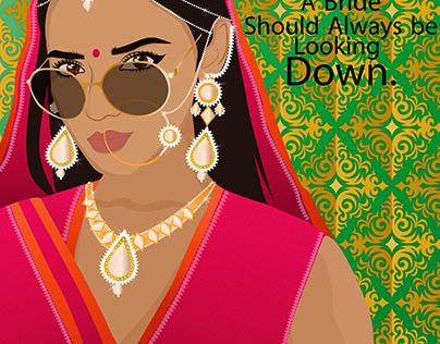 Indian Bride Breaking Stereotype
