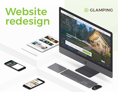 GLAMPING SLOVENIA - redesigned booking portal