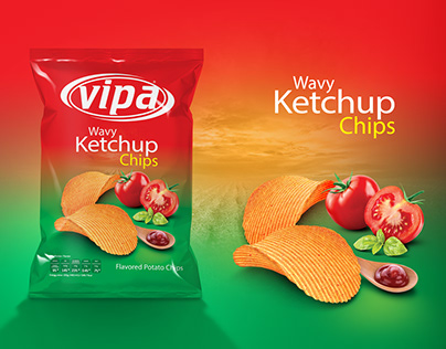Vipa Chips Packaging Design