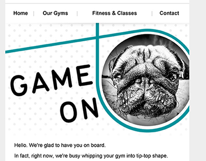 PureGym HTML Email