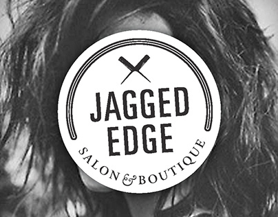 Jagged Edge Salon Logo